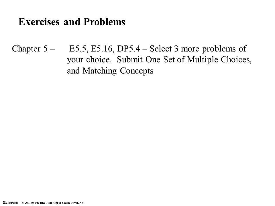Exercises and Problems