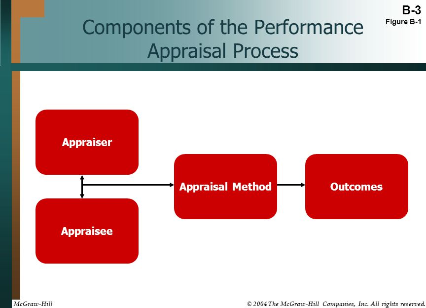 Components of the Performance Appraisal Process