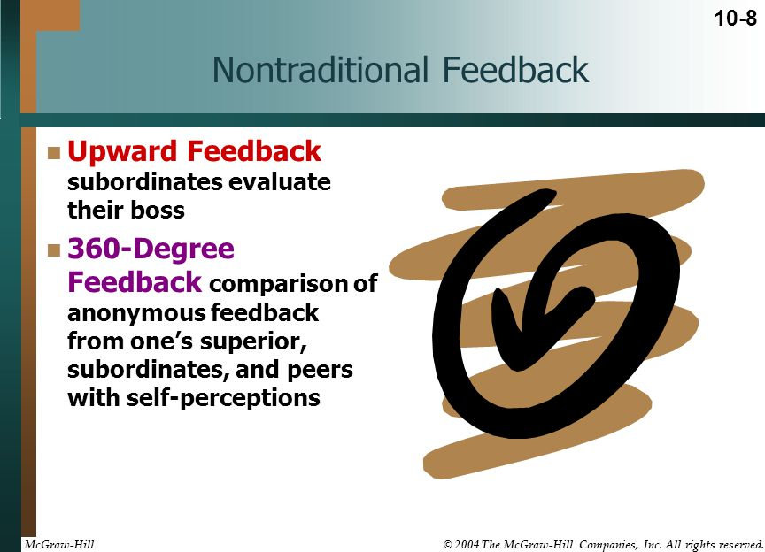 Nontraditional Feedback