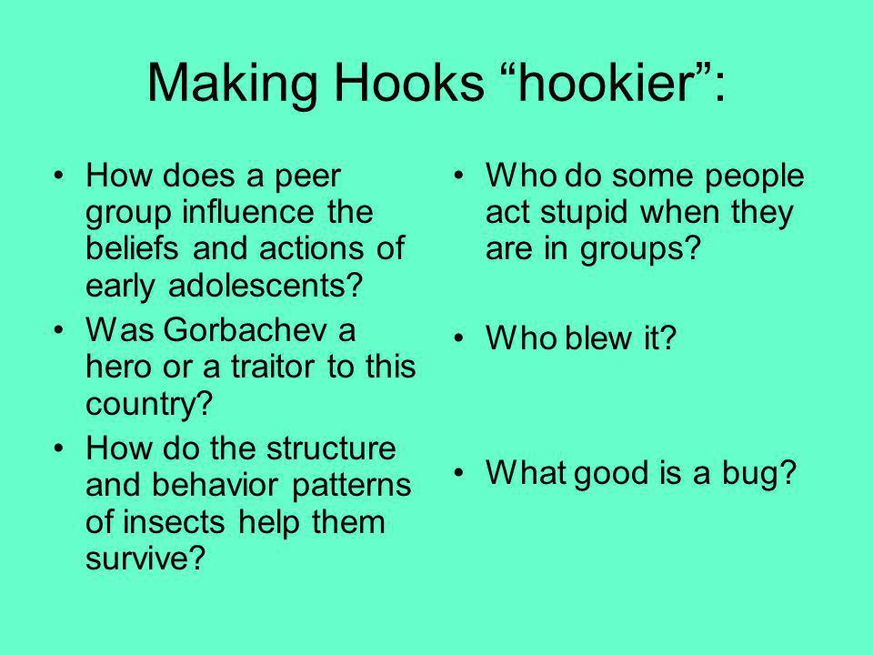 Making Hooks hookier :