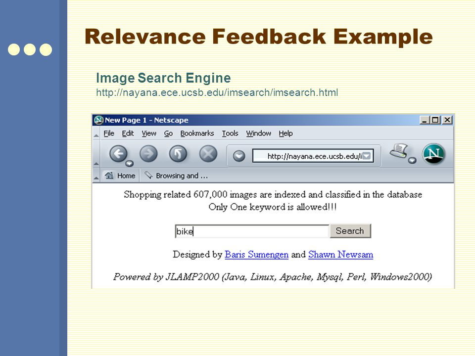 Relevance Feedback Example