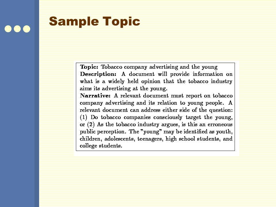 Sample Topic