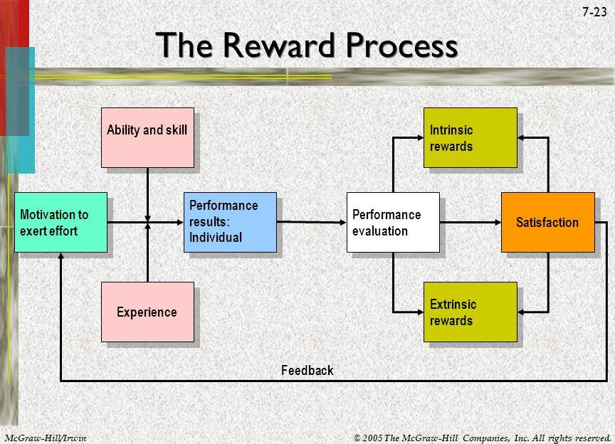 The Reward Process Ability and skill Intrinsic rewards