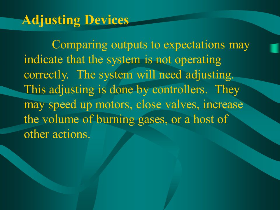 Adjusting Devices