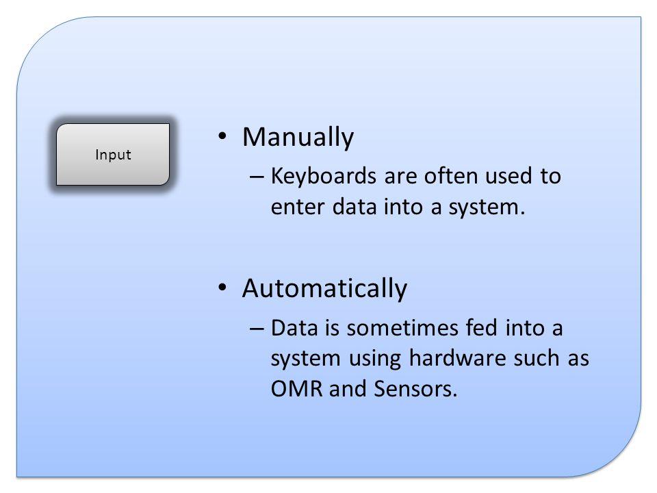 Manually Automatically