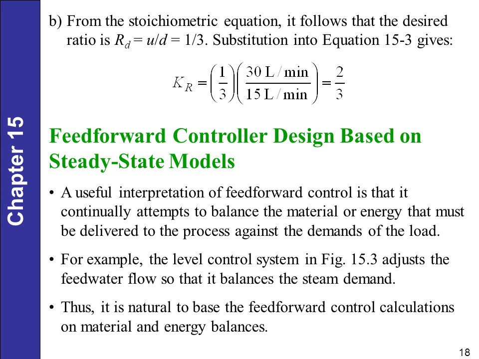 Feedforward Controller Design Based on Steady-State Models