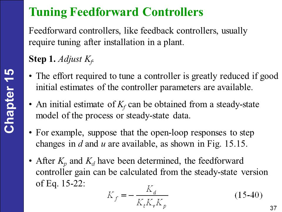 Tuning Feedforward Controllers