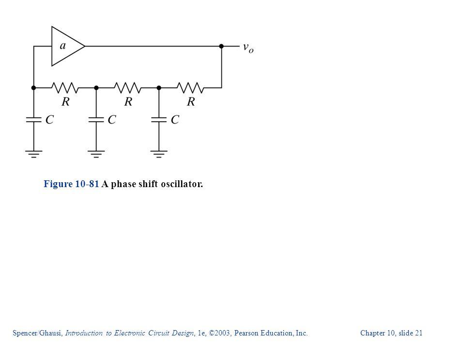 Figure 10-81 A phase shift oscillator.