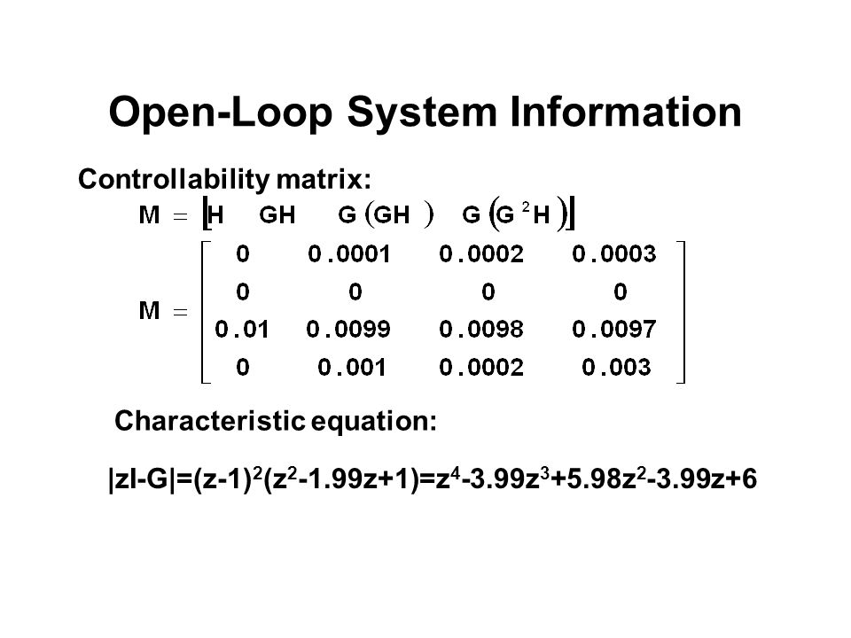 Open-Loop System Information