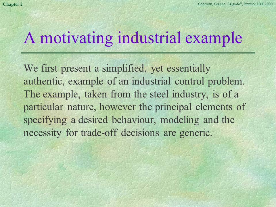 A motivating industrial example