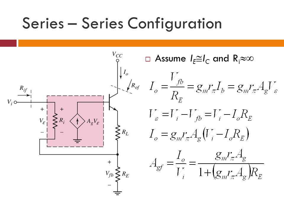 Series – Series Configuration