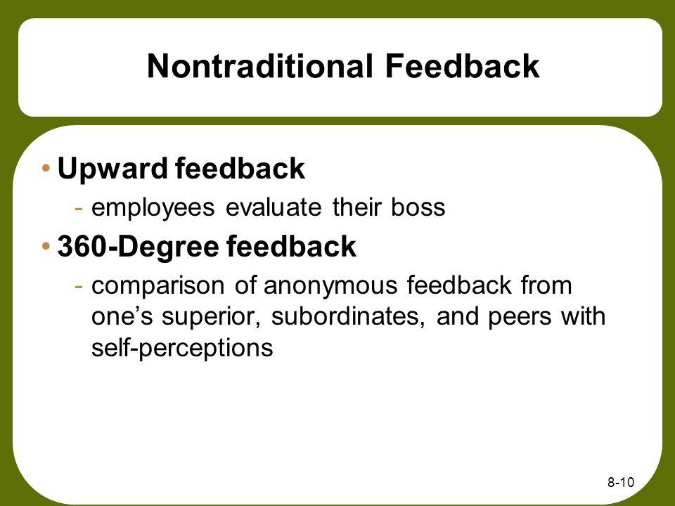 Nontraditional Feedback