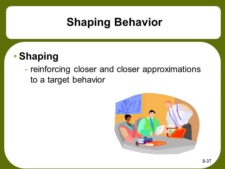 Shaping Behavior Shaping