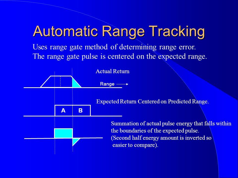 Automatic Range Tracking