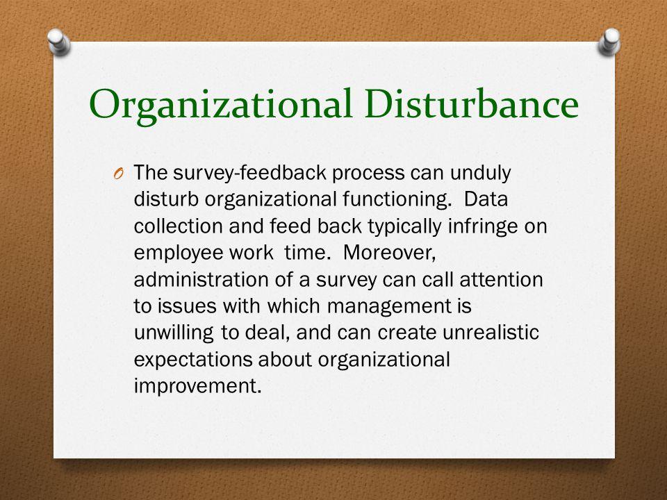 Organizational Disturbance