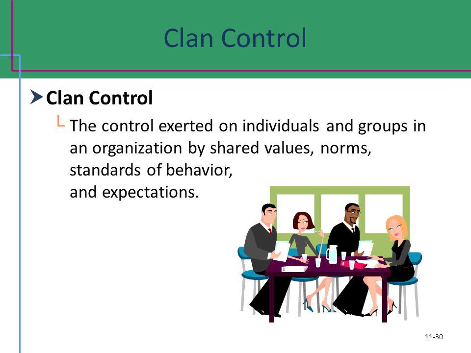 Clan Control Clan Control