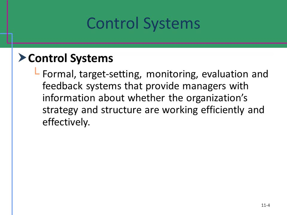 Control Systems Control Systems