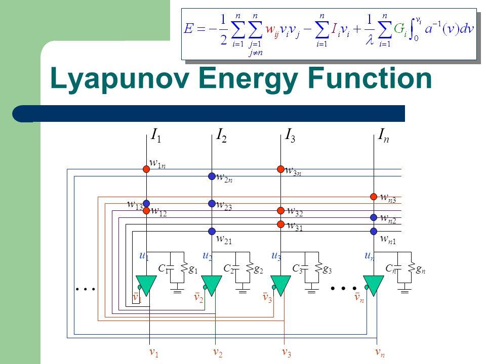 Lyapunov Energy Function
