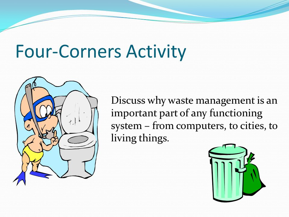 Four-Corners Activity