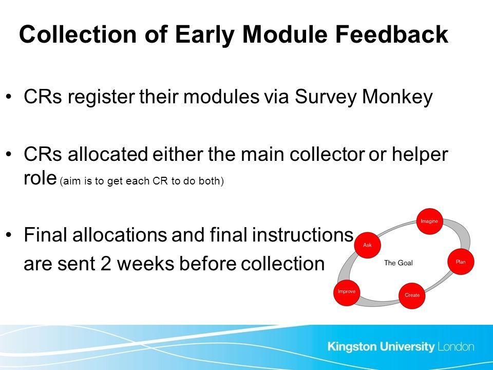 Collection of Early Module Feedback