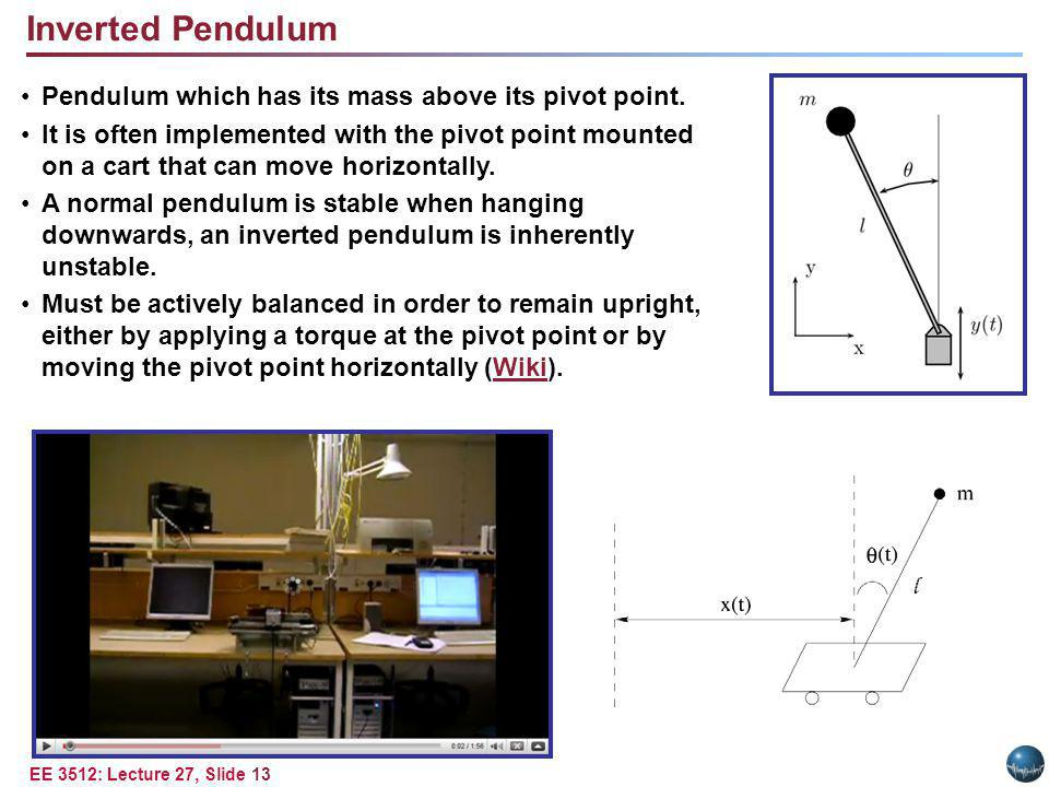 Feedback System – Use Proportional Derivative Control