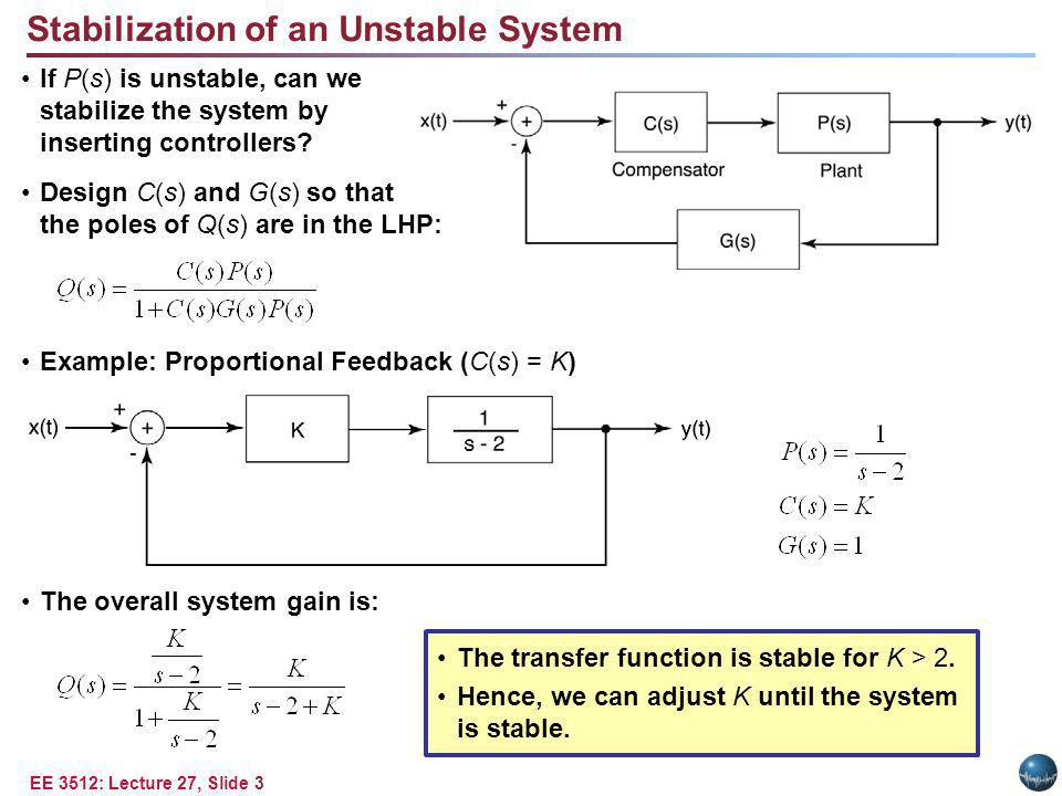 Second-Order Unstable System