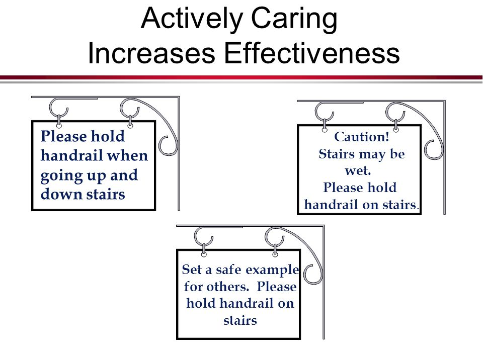 Actively Caring Increases Effectiveness