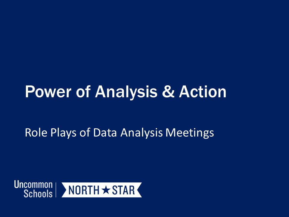 Power of Analysis & Action