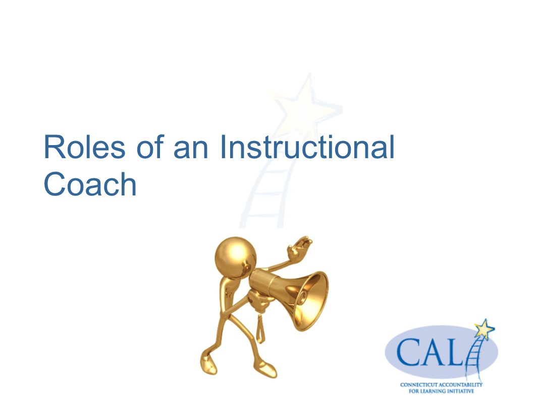 Roles of an Instructional Coach