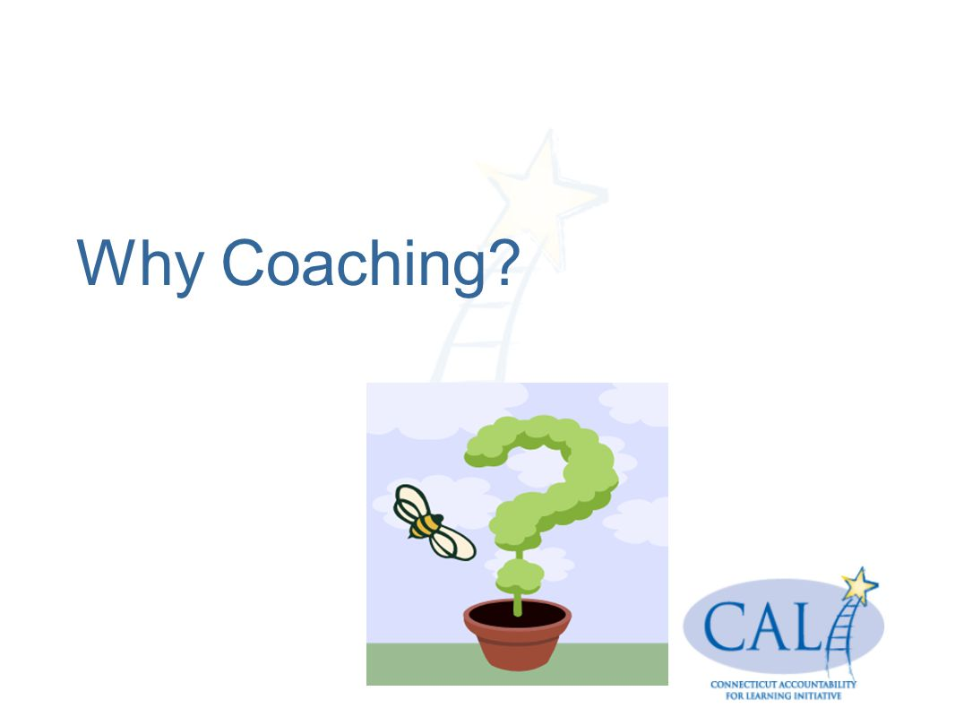 Why Coaching