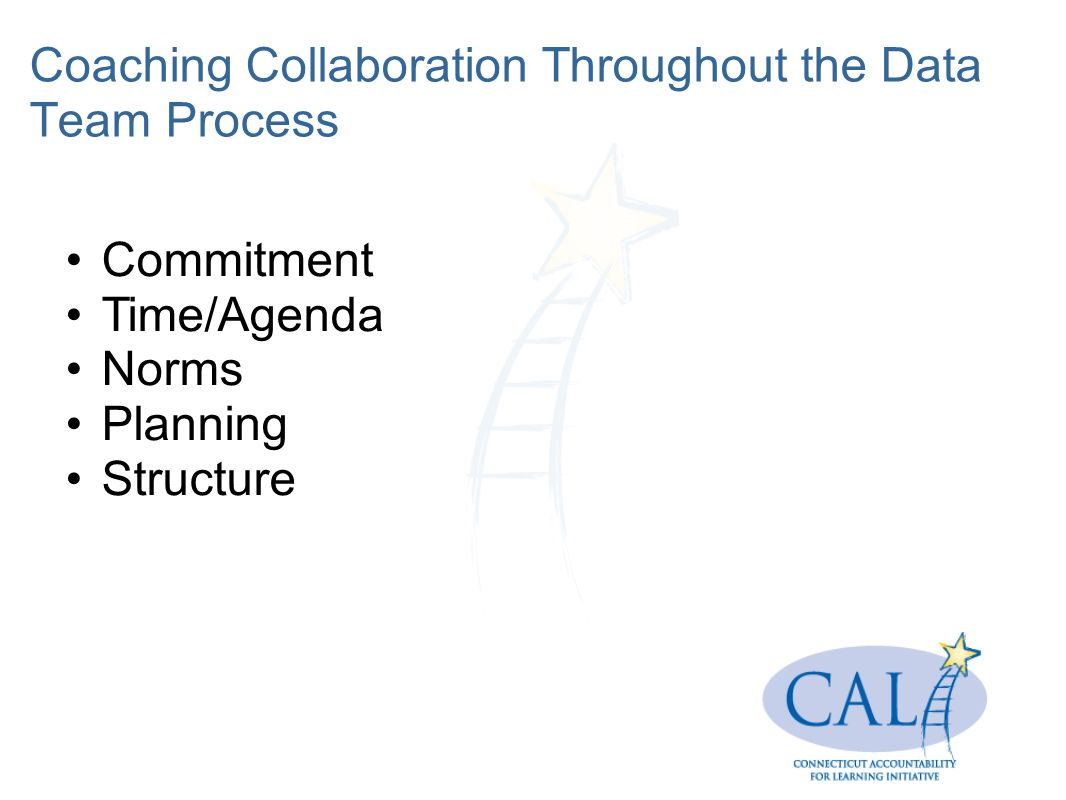 Coaching Collaboration Throughout the Data Team Process