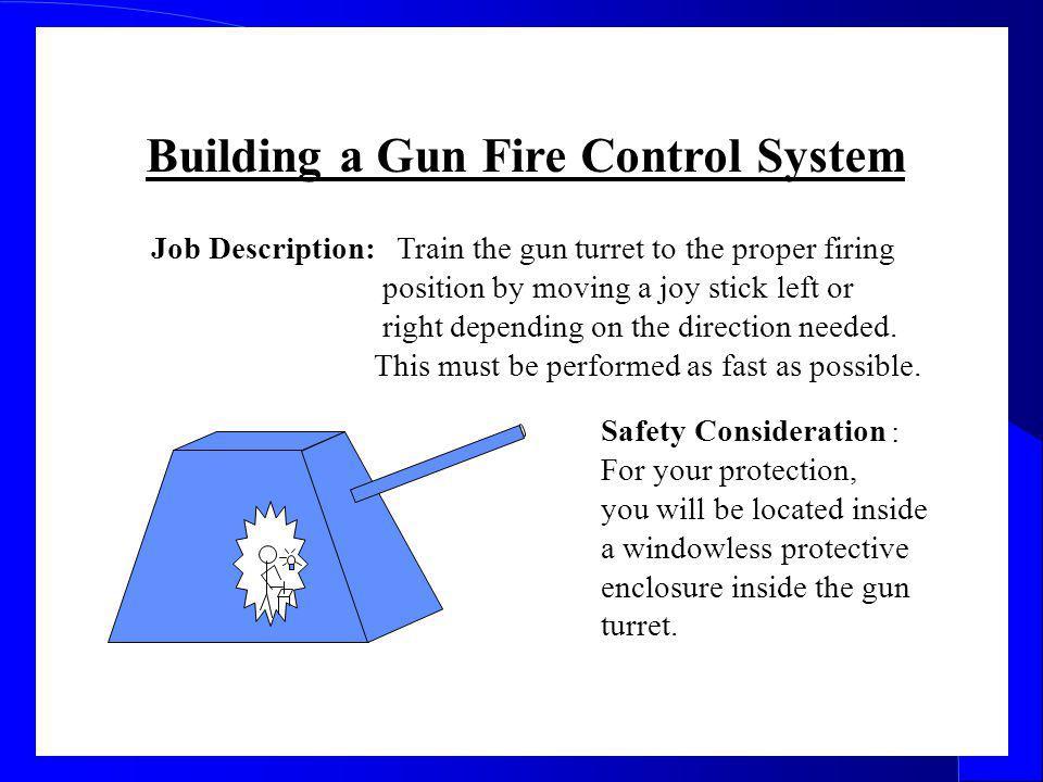 Building a Gun Fire Control System