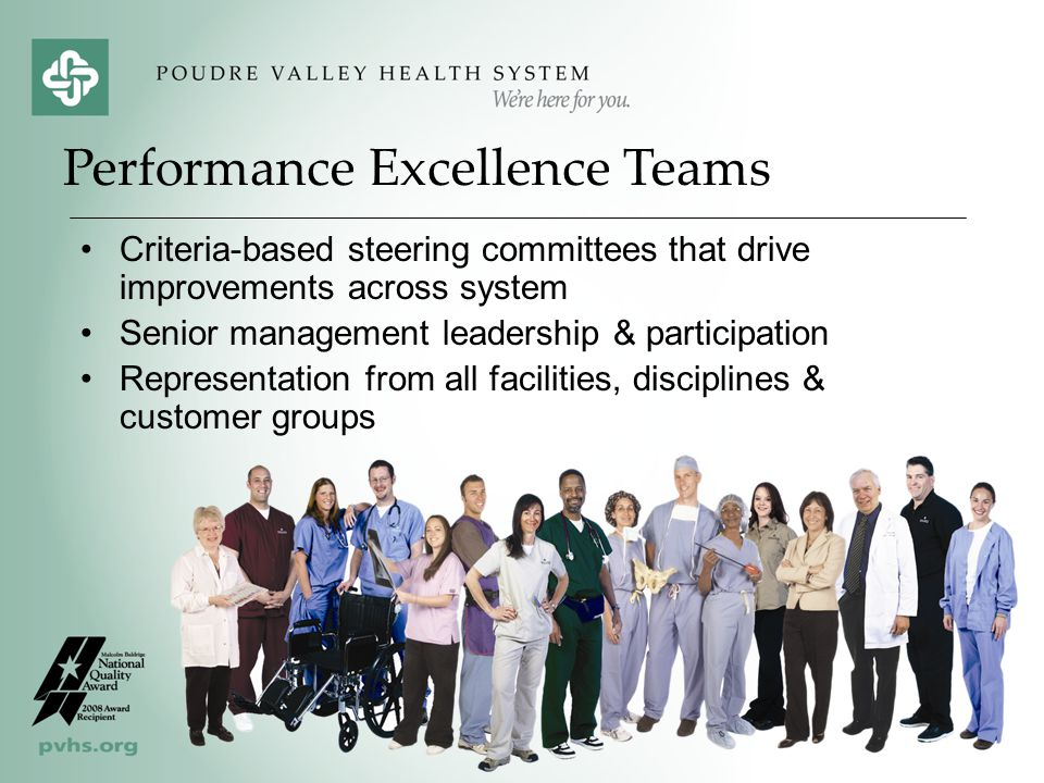 Performance Excellence Teams