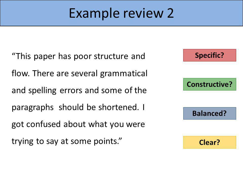 Example review 2