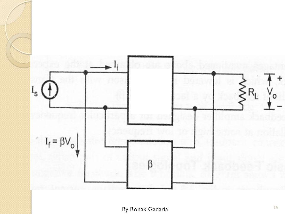 Transresistance Amplifier with Voltage Shunt Feedback