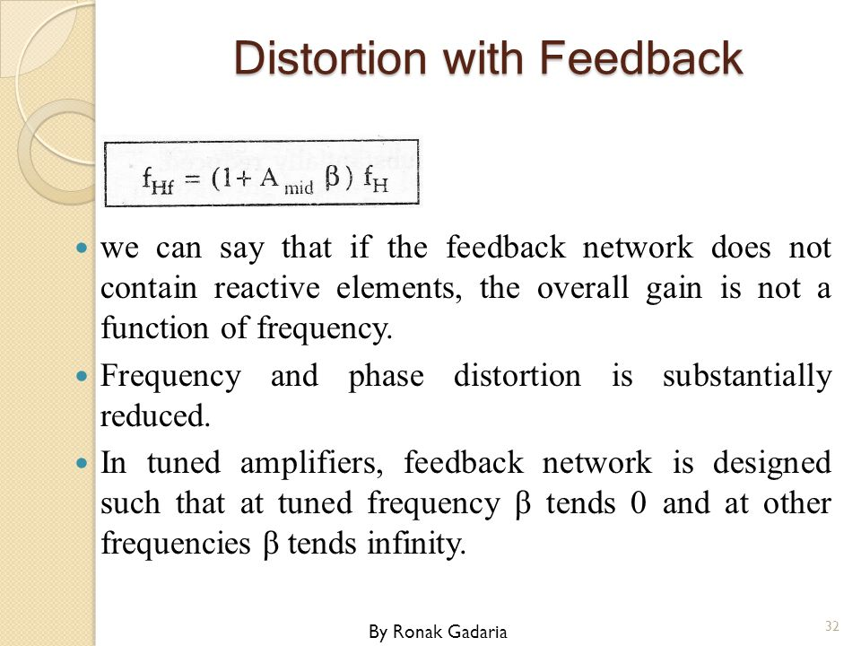Distortion with Feedback