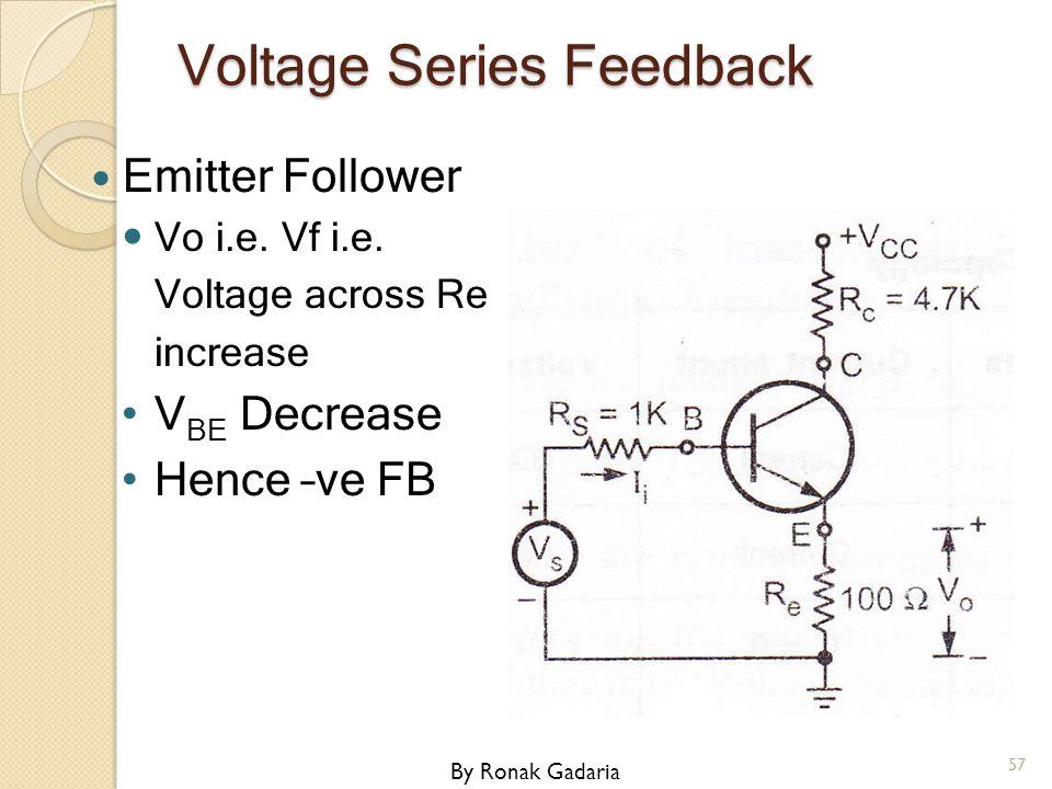 Voltage Series Feedback