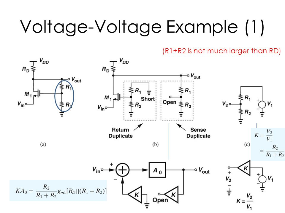 Voltage-Voltage Example (1)