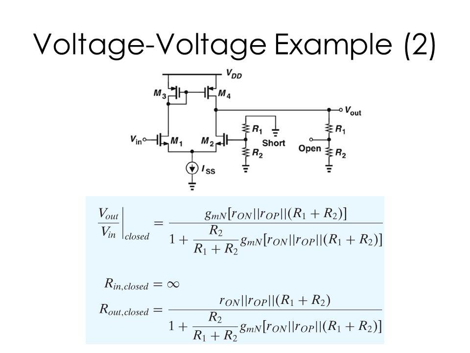 Voltage-Voltage Example (2)