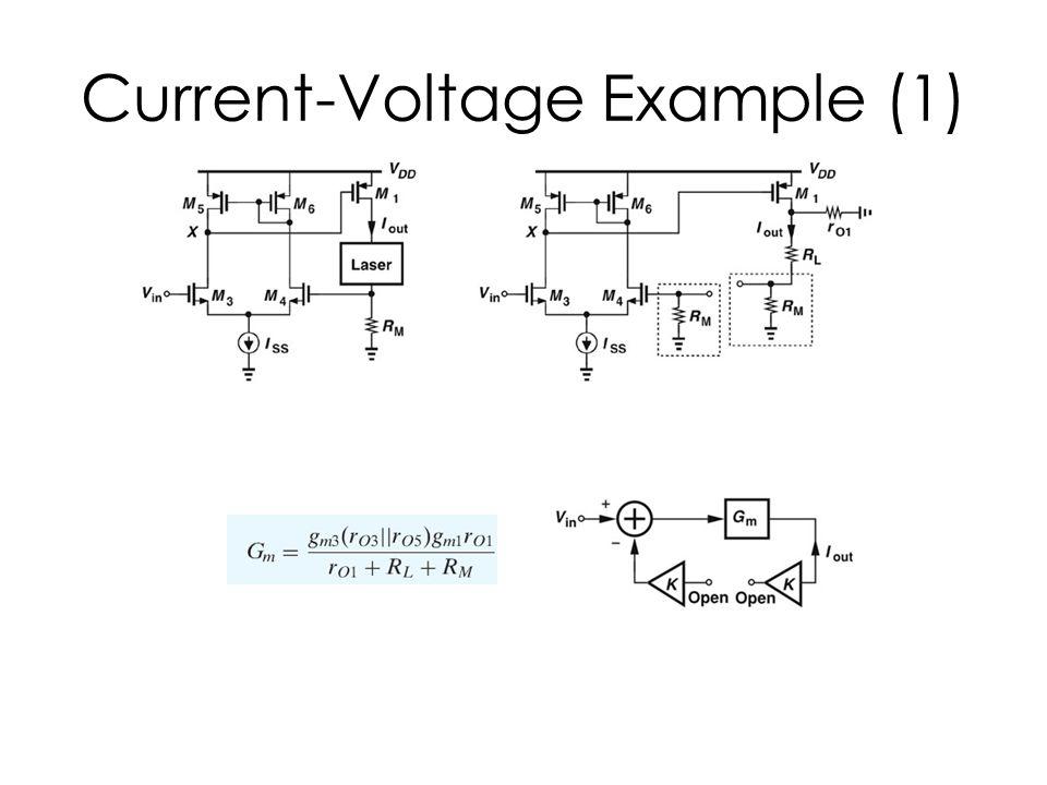 Current-Voltage Example (1)