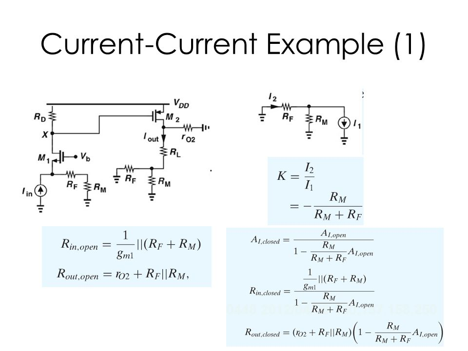 Current-Current Example (1)