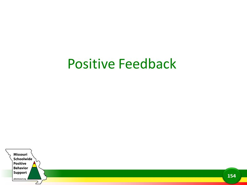 Positive Feedback Now we are going to talk about a specific type of contingent attention, positive feedback.