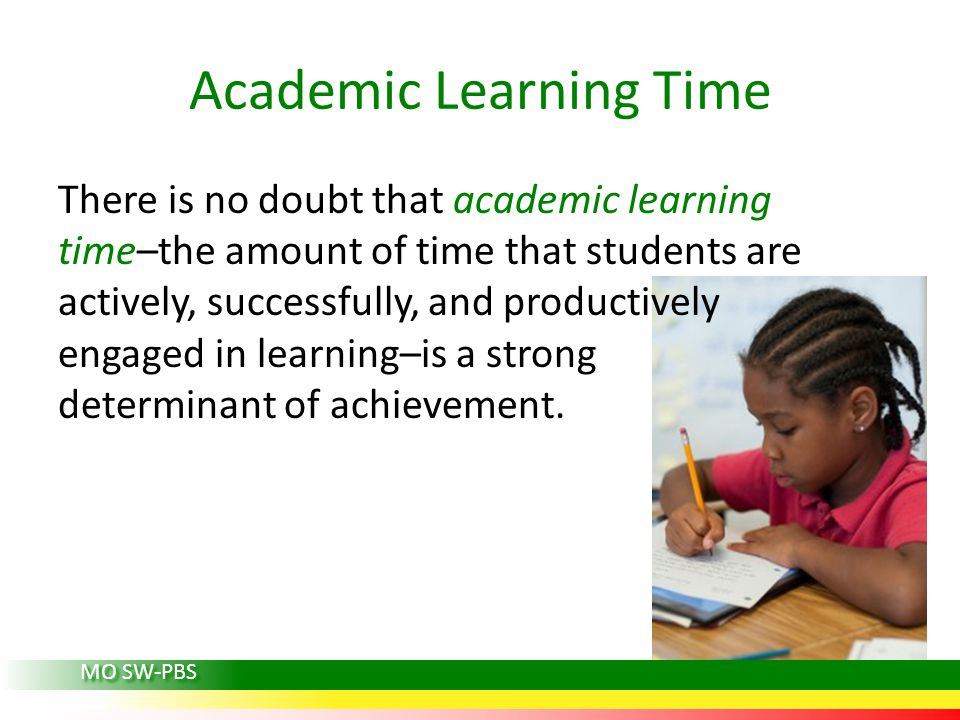 Academic Learning Time