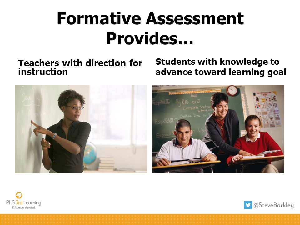 Formative Assessment Provides…