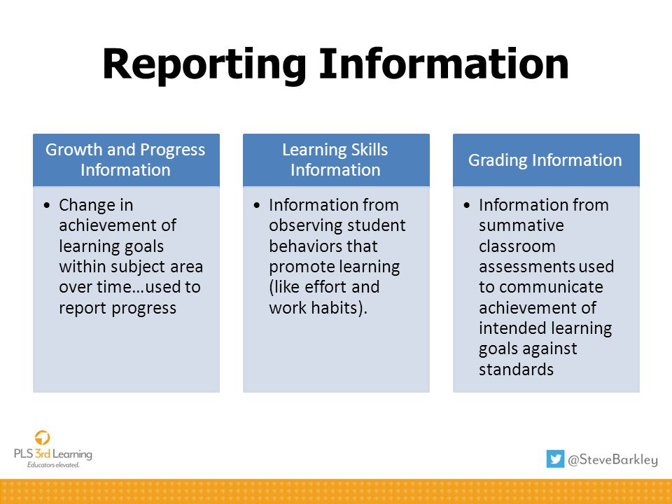 Reporting Information