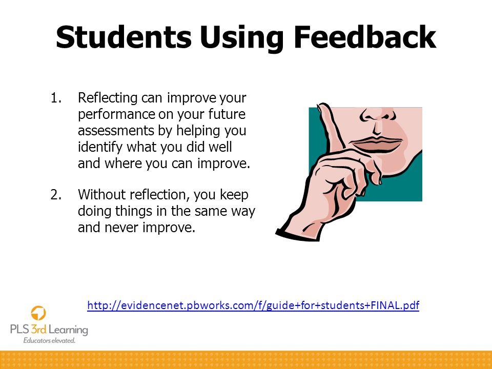 Students Using Feedback
