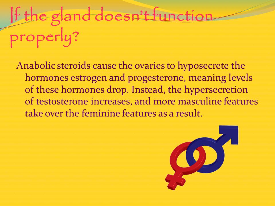 If the gland doesn't function properly