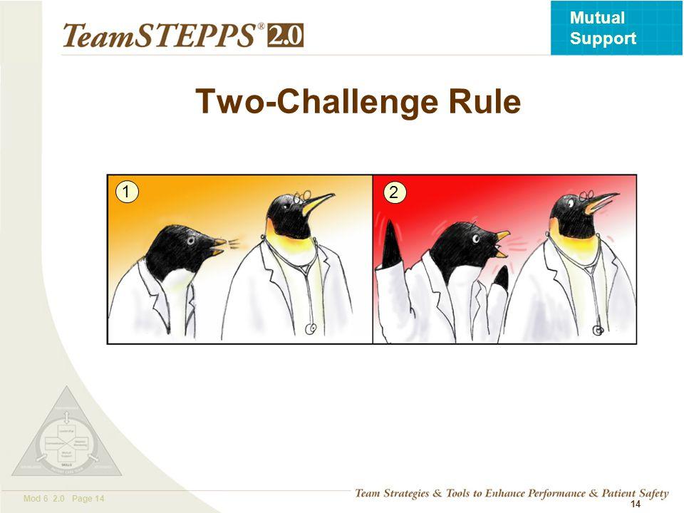 Two-Challenge Rule 1 2