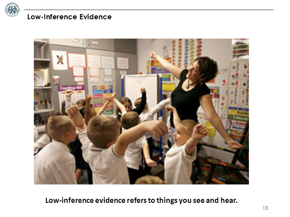 Low-Inference Evidence
