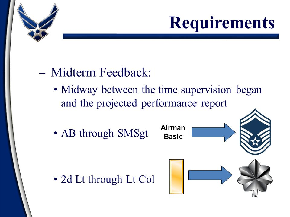 Requirements Midterm Feedback: